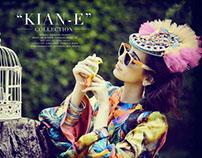 Collaboration with Kian-E designs for Asiana Magazine