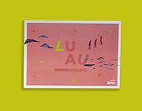[Ilustração/Design Gráfico] Luau Sesc Sorocaba 2018