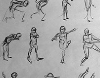 Sketches - life drawing studies