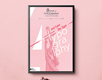 4th Poster Contest For Typography