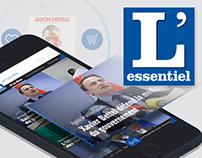 L'Essentiel Mobile App