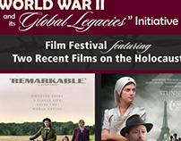 WWII Film Festival Postcard