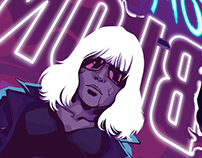 Atomic Blonde Fan Art
