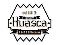 Etiqueta Cerveza Huasca