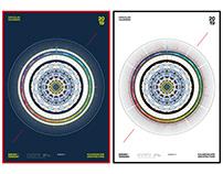 Circular Calendar - 2019 - City Edition
