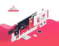 Apps Craft - Apps Landing Page
