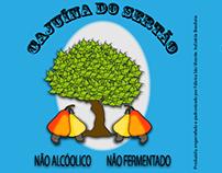 """Rotulo """"Cajuína do Sertão"""""""