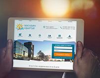 Website real estate agency