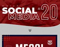 SOCIAL MEDIA MARCH ''2020