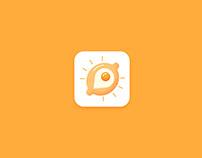 Khachapurka mobile app. UX/UI design product