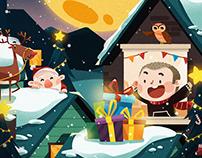 插画 | 圣诞 | Merry Christmas