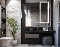 Modern Kuwait Bathroom Project HDR 300