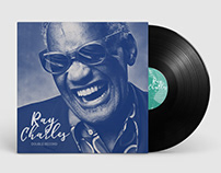 Ray Charles - vinyl record redesign