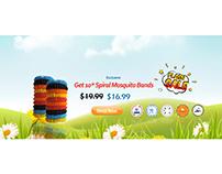 Safari totz banner designing