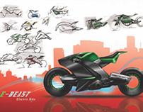 E-Beast Electric Motocycle