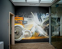 KOLTECH - Murals, graphic