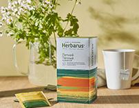 Herbarus tea packaging
