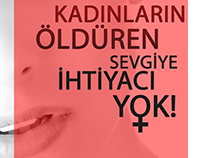 No to violence against women!