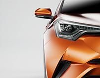 Toyota CHR -UE4 Shots