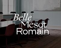Belle Mésot Romain - Brand & Identity