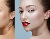 Deep beauty retouch