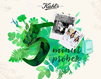 Illustrations for Kiehl's, Loreal