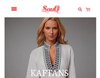 Interface Mobile Store SOUQ
