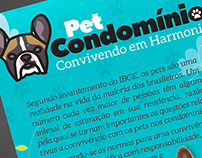 Flyer Pet Condomínio - Secovi Zona Sul RS