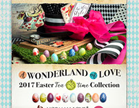 Alice in Wonderland Easter Campaign