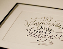 The Calligraphy Project