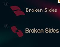 B Broken sides logo