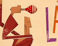 Latino. Cartel para concierto