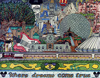 Ultimate Walt Disney World Print