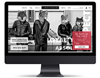 UX/UI - Liar London Fashion Website