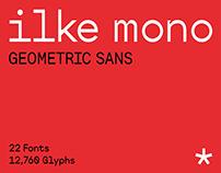 SK Ilke Mono Typeface