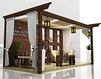 The Sarova Hotels Exhibition Stand Concept