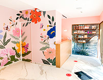 Wax Revolution Salon Wall Murals 2020
