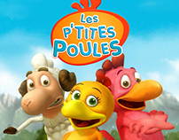"TV Animation Series ""les p`tites poules"""