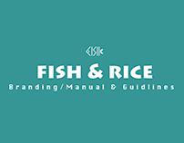 Fish & Rice Branding