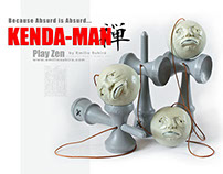 KENDA-MAN art toy sculpture serie