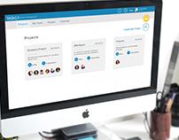 Project Management UX/UI Spec Work