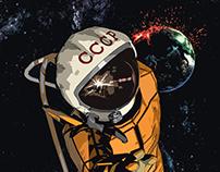 Falling Cosmonaut