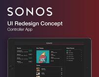 Sonos | Controller App Redesign Concept