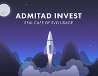AdInvest — Real case of SVG usage