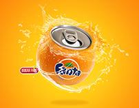 Fanta Advertising Concept