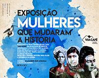 """Expo """"Mulheres que mudaram a história"""" - Grupo Tenco"""
