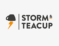 Storm and Teacup Logo