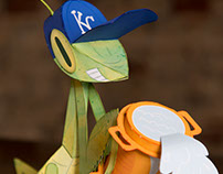 Rally Mantis papertoy