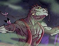 Lizard Shaman