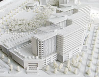 Binh Duong Hospital Design Concept Model